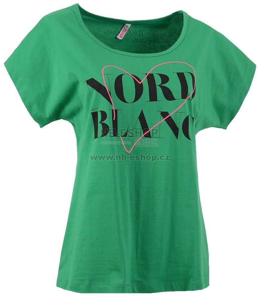 d1fc3ad5af3a Dámské tričko NORDBLANC NBSLT5695 ZELENÁ velikost  S ( 36 )   NB ...