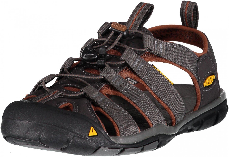 acd7f82b0453 Pánské sandále KEEN CLEARWATER CNX M RAVEN TORTOISE SHELL velikost ...