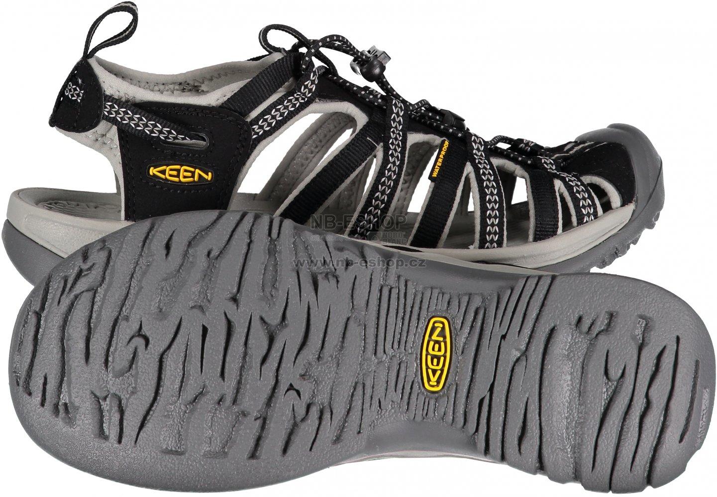 a01712c70125 Dámské sandály KEEN WHISPER W BLACK NEUTRAL GRAY velikost  37 ( 4 ...