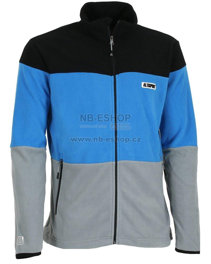 Pánská fleece mikina ALTISPORT BURLE ALMW16049 MODRÁ velikost  L ... 805493ac68