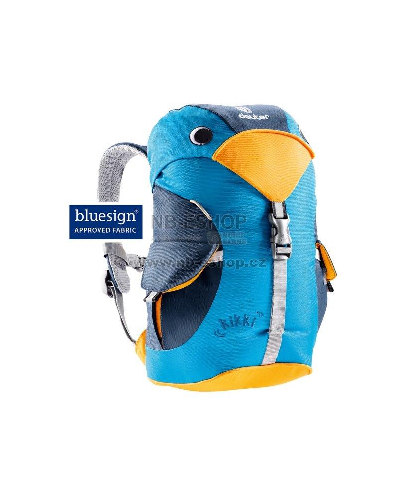 Dětský batoh Deuter Kikki 6 litrů Turquoise-midnight velikost  6 l ... ba51c91912