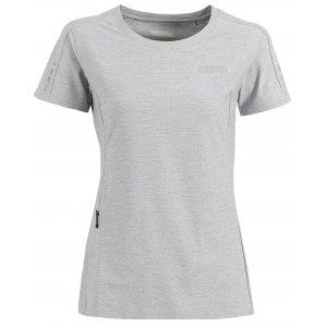 Dámské běžecké tričko NORDBLANC PROPER NBSLF6172 SVĚTLE ŠEDÝ MELÍR