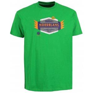 Pánské tričko NORDBLANC WING NBSMT6205 AMAZONSKÁ ZELENÁ 63911dee86