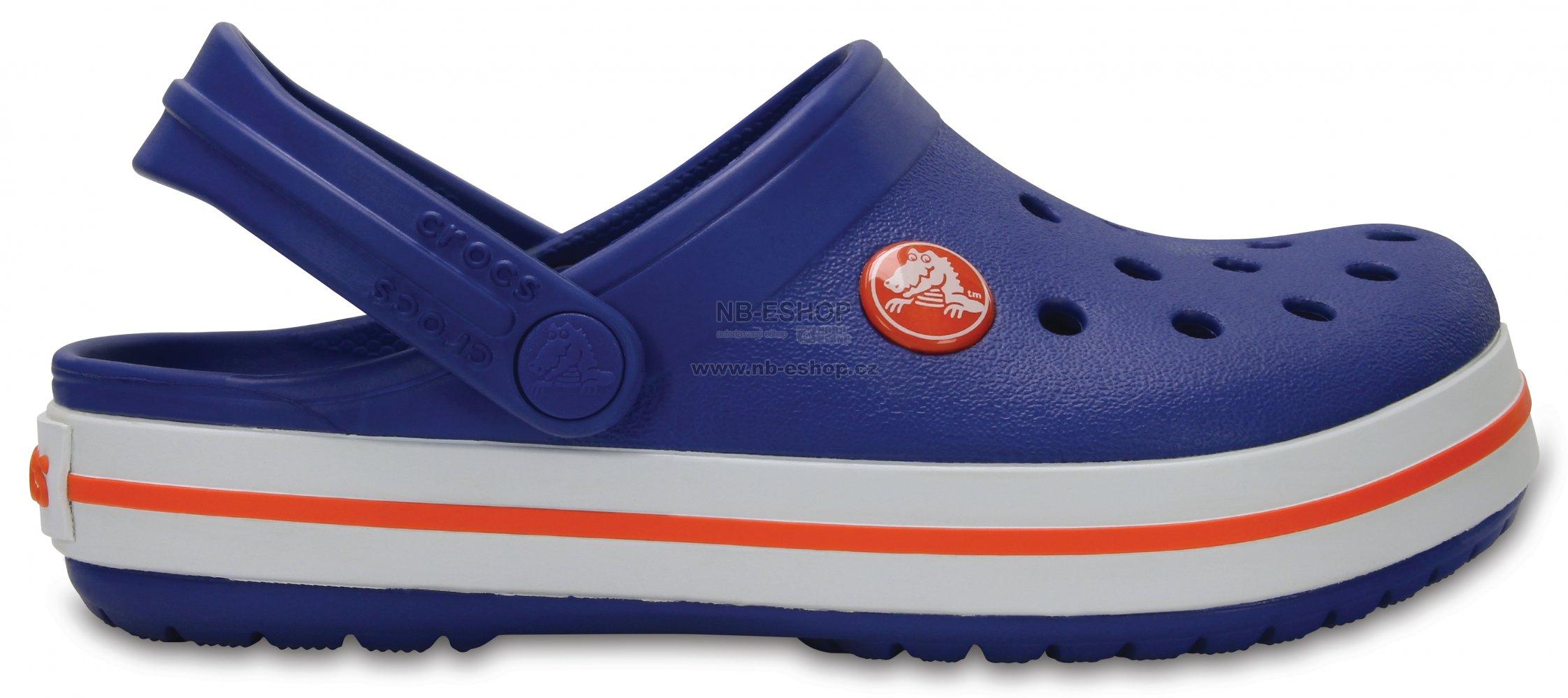 Dětské pantofle CROCS CROCBAND CLOG K 204537-4O5 CERULEAN BLUE ... 864e568e72