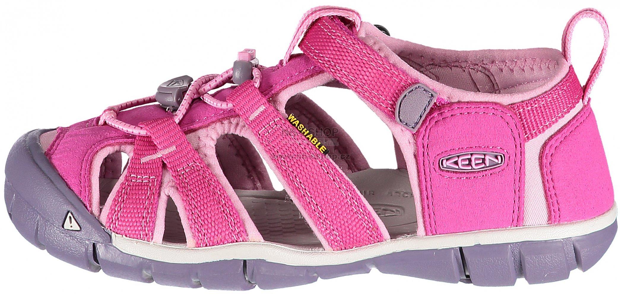 28cfcccbb2f Dětské sandály KEEN SEACAMP II CNX JR VERY BERRY LILAC CHIFFO ...