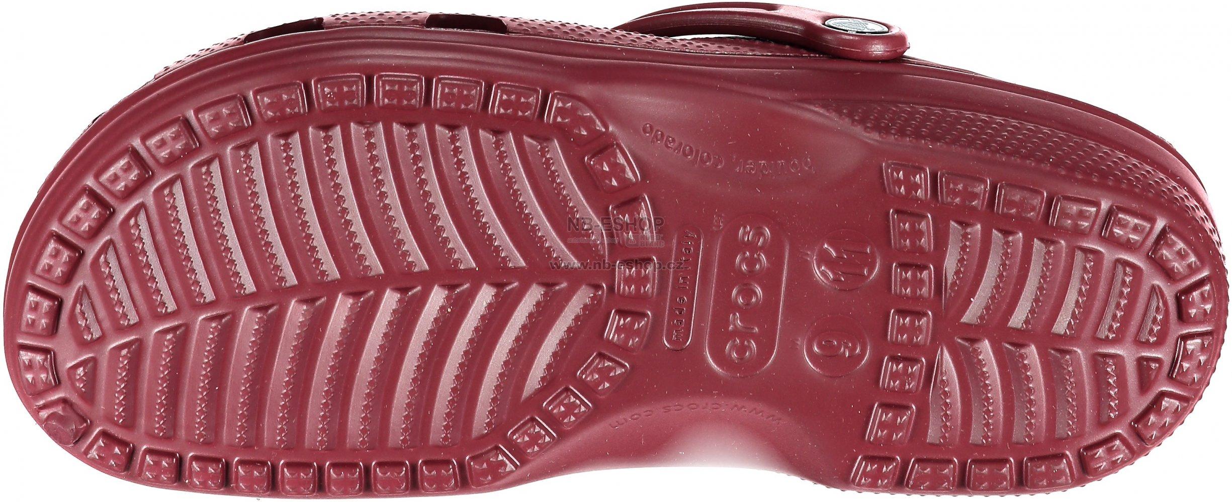 abba49bd73a Dámské pantofle CROCS CLASSIC 10001-612 GARNET. Dámské pantofle CROCS  CLASSIC 10001-007 LIGHT GREY ...