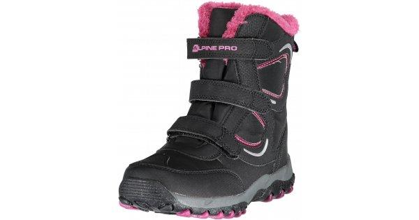 6d3f5e2083f Dětská zimní obuv ALPINE PRO HARYKO KBTK158 ČERNÁ velikost  EU 22    NB-ESHOP.cz