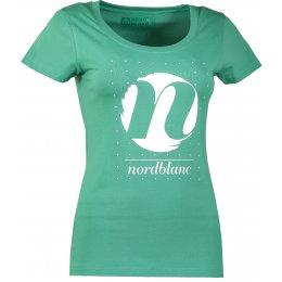 Dámské tričko NORDBLANC CYCLE NBFLT6559 ZELENÁ NADĚJE