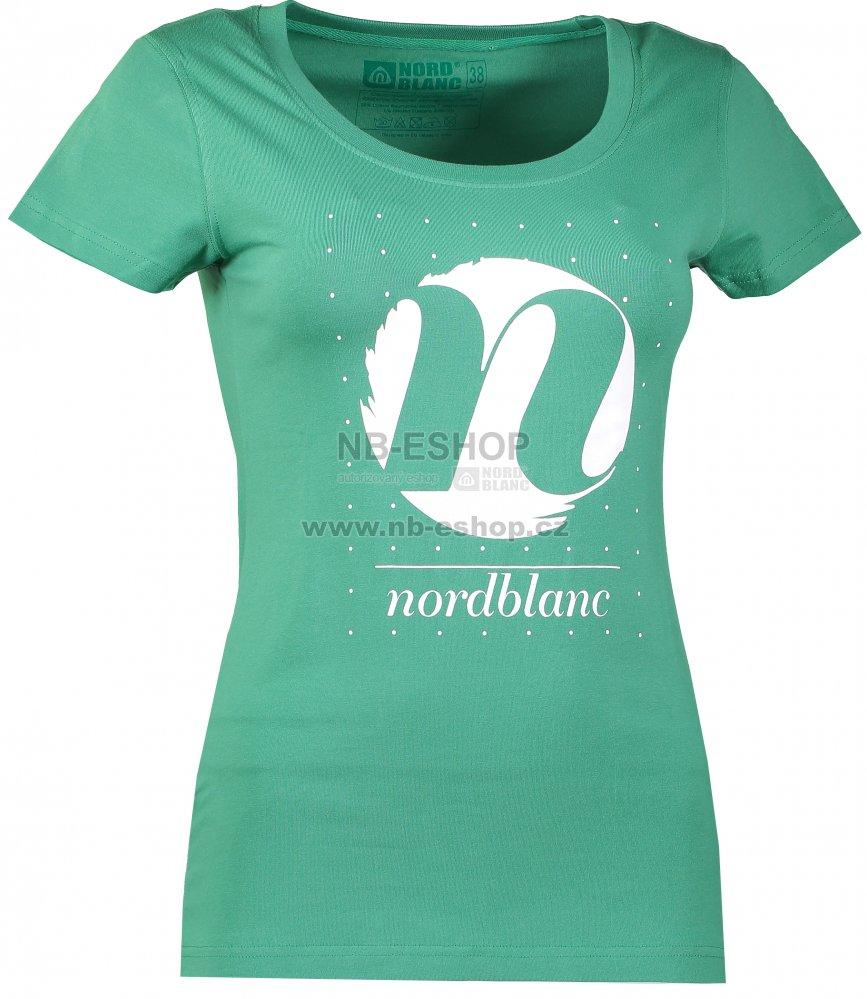 a0e739b006dd Dámské tričko NORDBLANC CYCLE NBFLT6559 ZELENÁ NADĚJE velikost  36 ...
