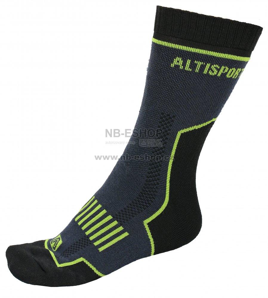 Trekingové ponožky ALTISPORT KARTHALA ALSW17405 ČERNÁ velikost  43 ... e4213b36ee