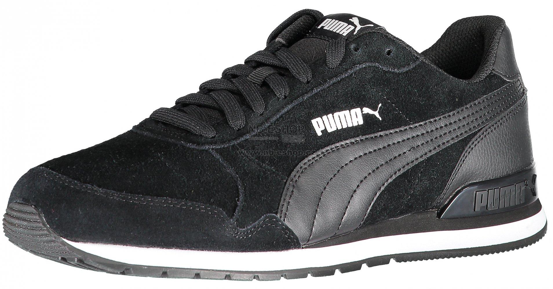 Pánská běžecká obuv PUMA ST RUNNER V2 SD 36527901 PUMA BLACK PUMA BLACK 38b6331d8c