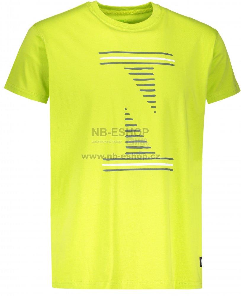 2ee535107371 Pánské tričko NORDBLANC LOUVRE NBSMT6811 JASNĚ ZELENÁ velikost  XL ...