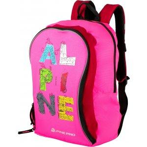 Dětský batoh ALPINE PRO VEAHO KBGL003 RŮŽOVÁ