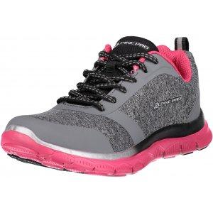 Dámské sportovní boty ALPINE PRO NIA LBTL160 TMAVĚ RŮŽOVÁ