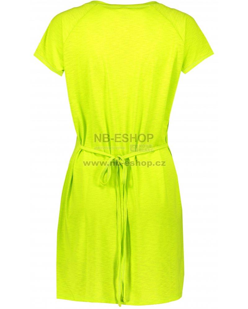 Dámské šaty NORDBLANC SEDATE NBSLD6768 JASNĚ ZELENÁ velikost  42 ... d98c86b9ab