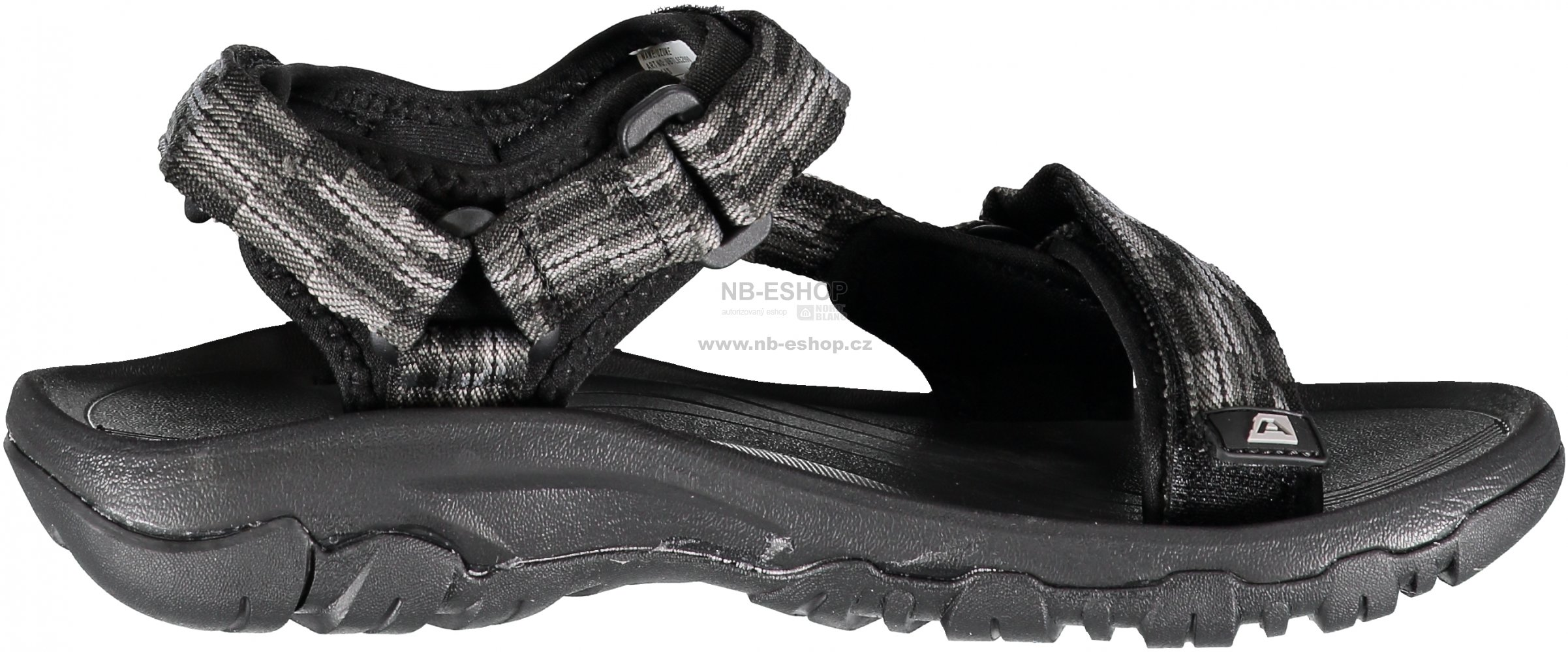 27b2b5b5346 Dámské sandále ALPINE PRO UZUME UBTL052 ČERNÁ velikost  EU 40 (UK 6 ...
