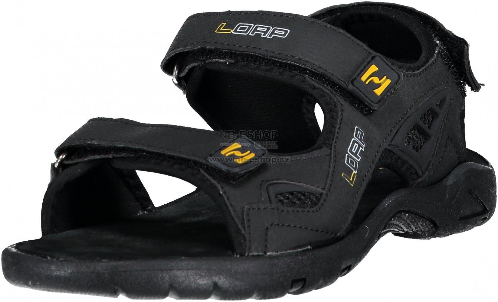 08dbd5617248 Pánské sandále LOAP COLTRAN SSM1853 ČERNOŽLUTÁ velikost  EU 41 (UK 7 ...
