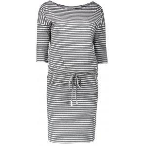 Dámské šaty NUMOCO A13-11 SVĚTLE ŠEDÁ
