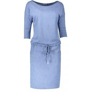 Dámské šaty NUMOCO A13-80 SVĚTLE MODRÁ