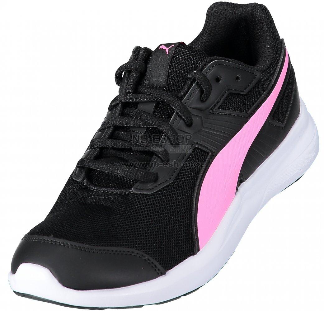 201a033487f Dámská běžecká obuv PUMA ESCAPER MESH 36430717 PUMA BLACK KNOCKOUT PINK