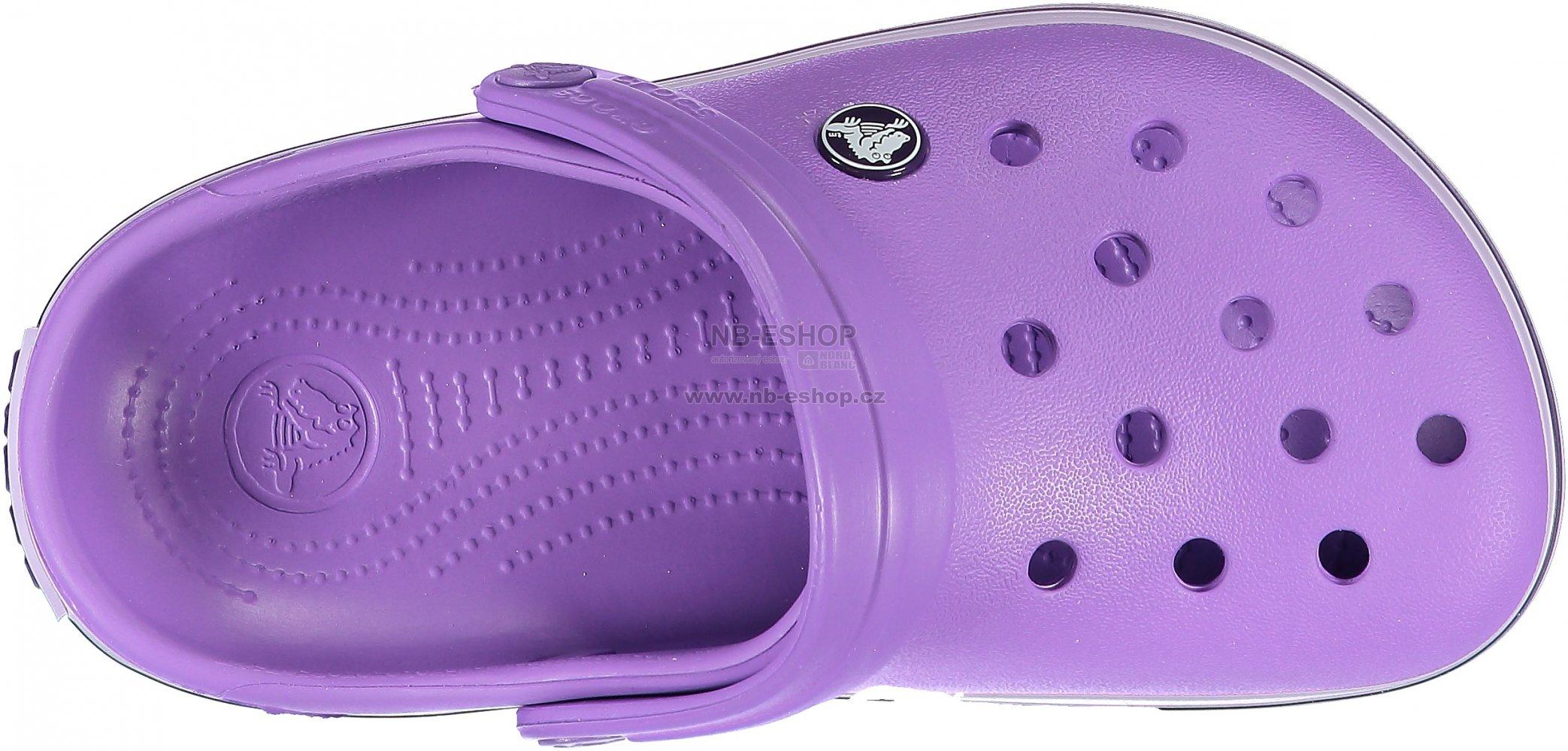 Dětské pantofle CROCS KIDS CROCBAND 204537-510 PURPLE velikost  29 ... 8acd336ff6