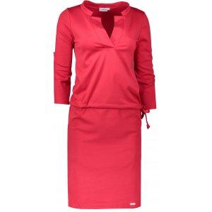 cca2ef8e4ce Dámské šaty NUMOCO A161-11 ČERVENÁ