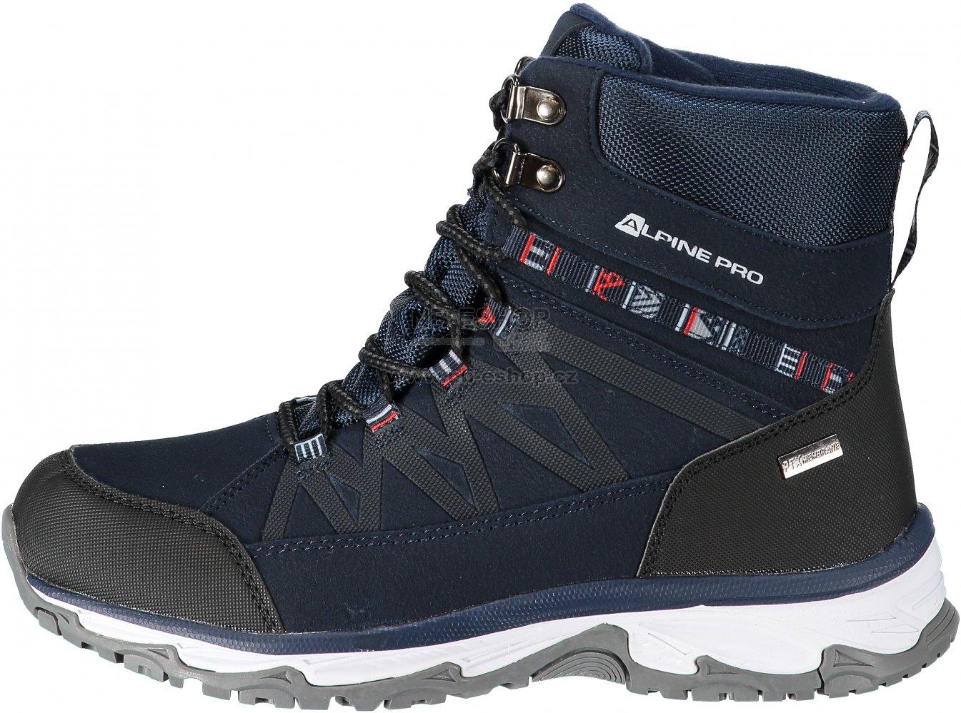 bb73308dca6 Dámská zimní obuv ALPINE PRO CAZA LBTM186 TMAVĚ MODRÁ velikost  EU ...