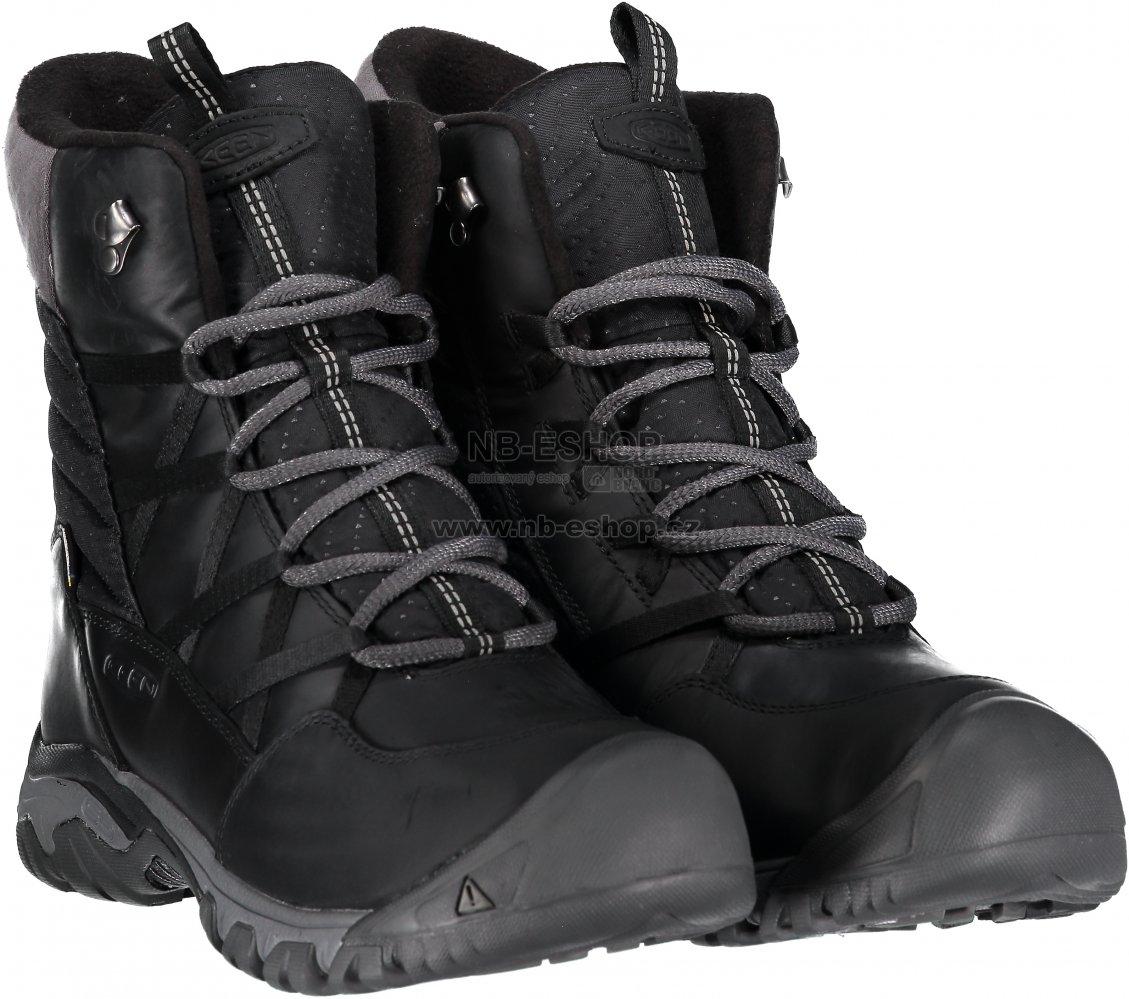 Dámské boty KEEN HOODOO III LACE UP W BLACK MAGNET velikost  EU 39 ... 9c48d50500d