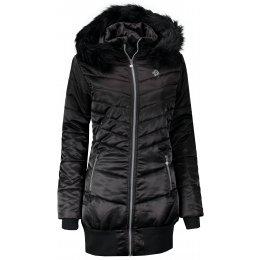 Dámský zimní kabát ALTISPORT SOLILA ČERNÁ