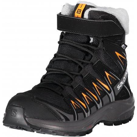 Dětské zimní boty SALOMON XA PRO 3D WINTER TS CSWP J L40651100 BLACK MAGNET  e9efb4ba229