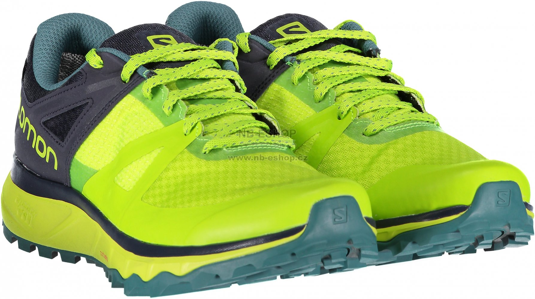 Pánské běžecké boty SALOMON TRAILSTER GTX L40612000 ACID LIME GRAPHITE HYDRO . 107852c89c
