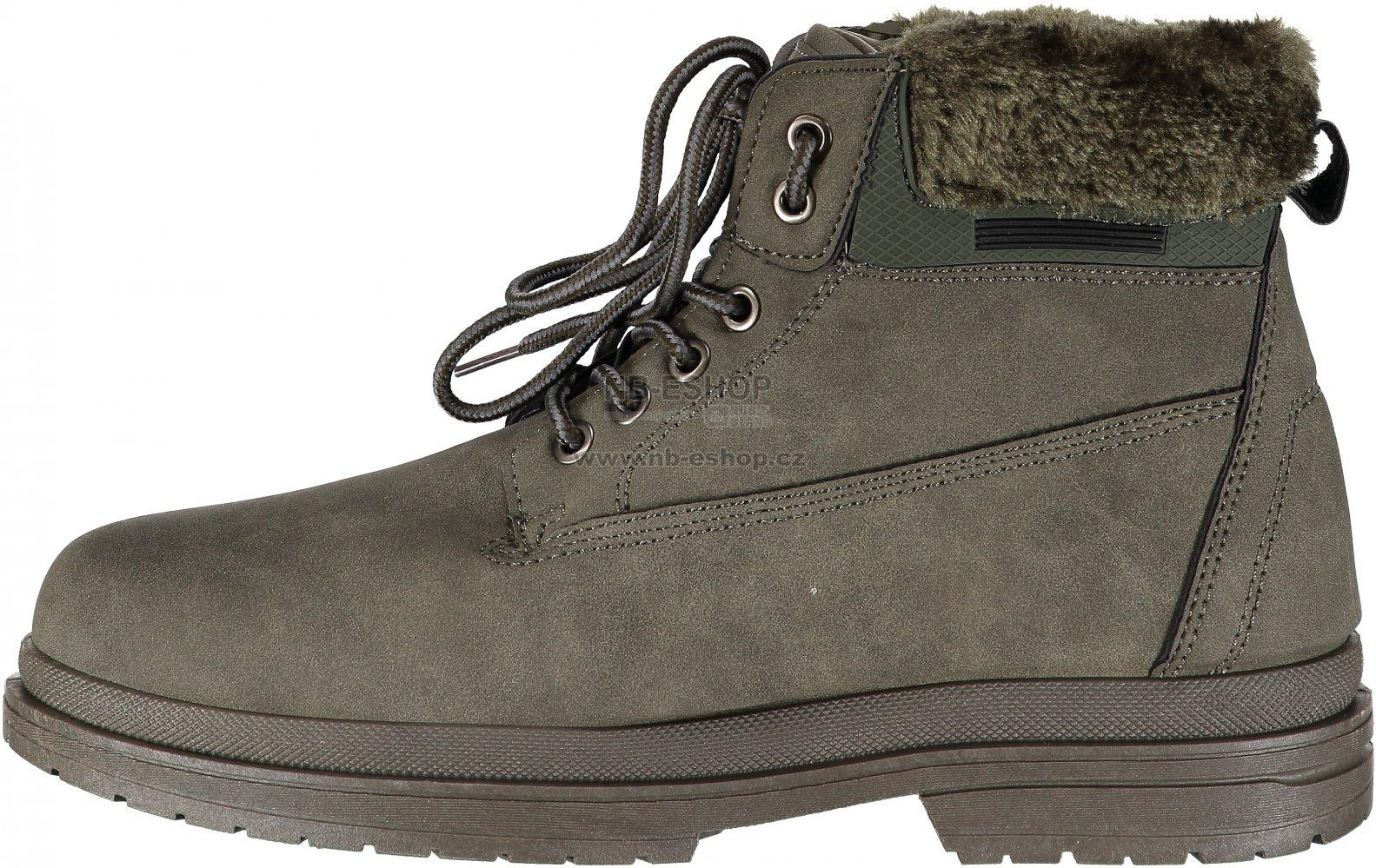 629df5ce502 Dámské zimní boty VICES JB009-2 OLIVE GREEN velikost  38   NB-ESHOP.cz