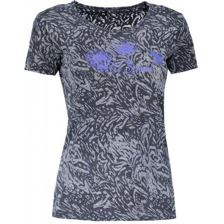 Dámské triko s krátkým rukávem ALTISPORT GUSTA LTSN528 TMAVĚ MODRÁ