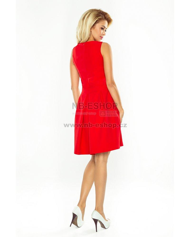 Dámské šaty NUMOCO A160-3 ČERVENÁ velikost  S   NB-ESHOP.cz 4e07663711