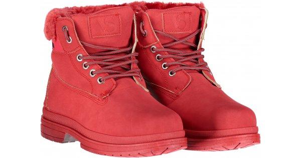 731bfe598db Dámské zimní boty VICES JB009-19 RED velikost  36   NB-ESHOP.cz