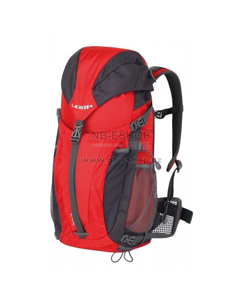 d7f9b4cd68 Turistický batoh LOAP TERRA 24 BH1659 ČERVENOŠEDÁ velikost  24 l ...