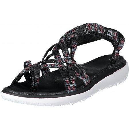 Dámské sandále ALPINE PRO GURANTA LBTN196 ČERNÁ