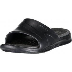 Pánské pantofle CROCS REVIVA SLIDE 205546-0DD BLACK/SLATE GREY