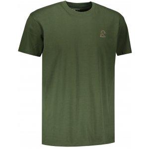 Pánské triko s krátkým rukávem ALTISPORT AMBATRY KHAKI