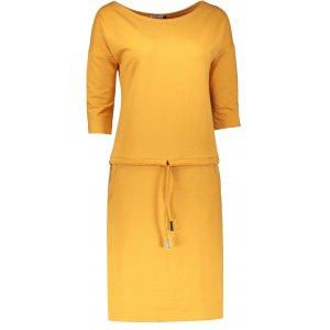 Dámské šaty NUMOCO A13-100 MEDOVÁ