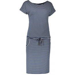 Dámské šaty NUMOCO A139 MODRÉ PRUHY