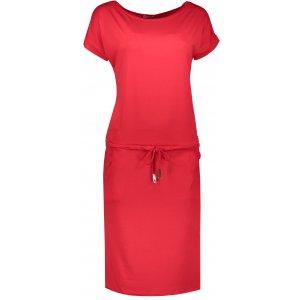 Dámské šaty NUMOCO A139 ČERVENÁ