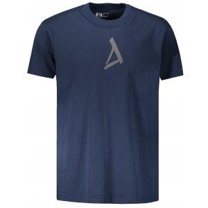 Pánské triko s krátkým rukávem ALTISPORT ZUNO TMAVĚ MODRÁ