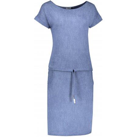 Dámské šaty NUMOCO A139-6 MODRÝ JEANS