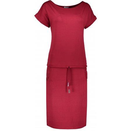 Dámské šaty NUMOCO A139-5 ČERVENÁ
