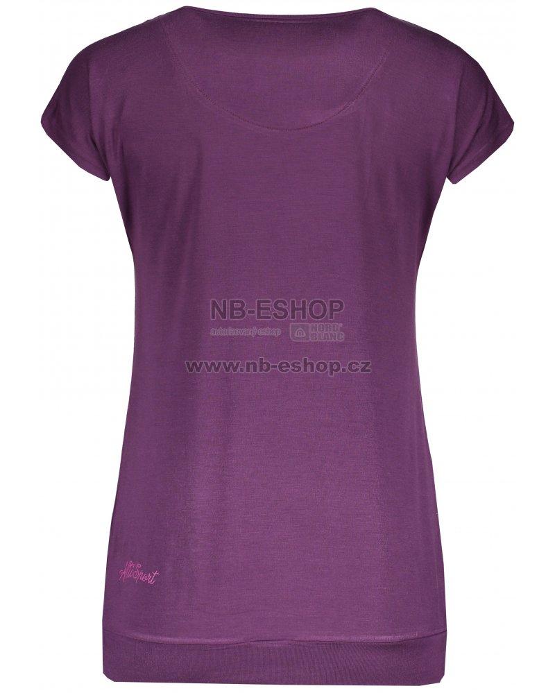 70d2ab3db5b5 Dámské triko s krátkým rukávem ALTISPORT TSARA TMAVĚ FIALOVÁ ...