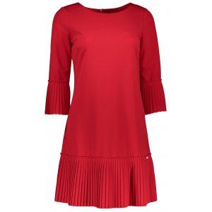 Dámské šaty NUMOCO A228-3 ČERVENÁ
