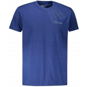 Pánské triko s krátkým rukávem ALTISPORT BEKITRO TMAVĚ MODRÁ