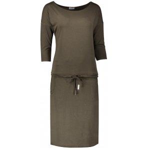 Dámské šaty NUMOCO A13-104 KHAKI