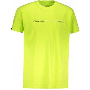 Pánské triko s krátkým rukávem ALTISPORT ANAKAO SVĚTLE ZELENÁ